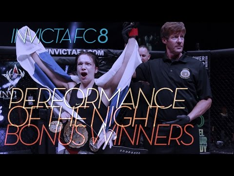 INVICTA FC 8: Performance of the Night Winners