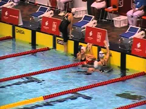 Tera Van Beilen (OAK) 100 breast final at 2012 Olympic Swimming Trials