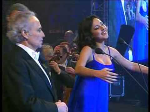 Jose Carreras & Sofia Nizharadze - Tonight  (West Side Story)