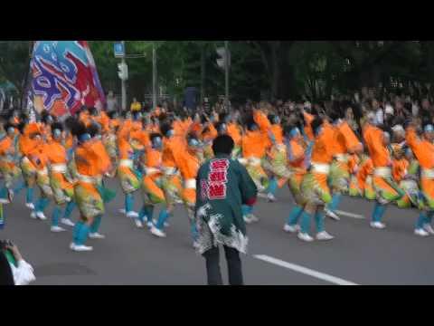 「夢想漣えさし」 YOSAKOIソーラン祭2011  大通りパレード