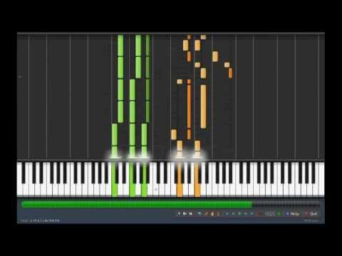Chikyuugi (Saint Seiya) - 地球ぎ - Tutorial Piano