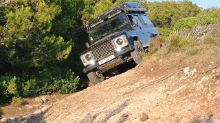 Defender Offroad trip in Sardegna part2 Jul15