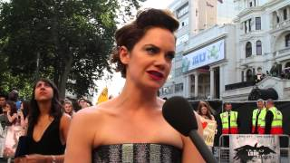 Ruth Wilson admits feeling cheeky being a Brit in a Western film at The Lone Ranger Premiere