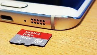 Use Micro SD Card & Expand Storage on Samsung Galaxy S6 / S6 Edge