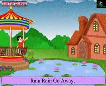 Nursery Rhymes- Rain Rain Go Away- With Lyrics video