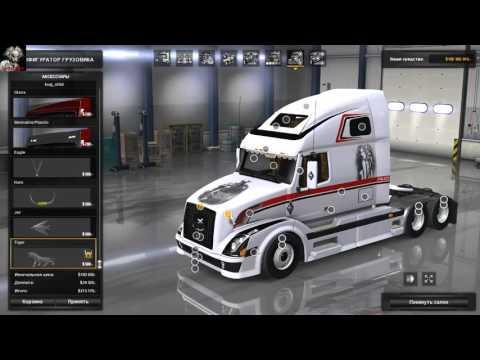 American Truck Simulator (Обзор Volvo VNL 670)