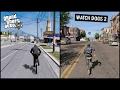 Gta 5 vs Watch Dogs 2 | Side by Side | COMPARISON |