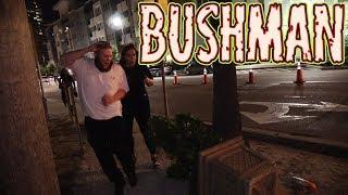 BUSHMAN AT NIGHT - Filming at Hockey game with FREDSPECIALTELEVISION
