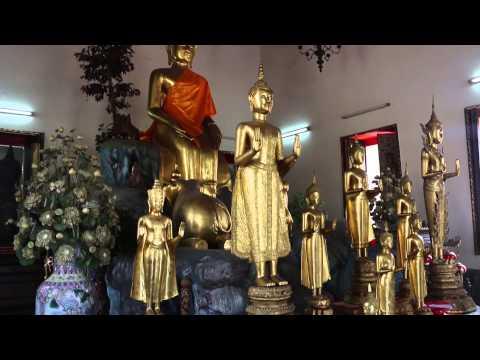 Visiting Wat Pho, Bangkok, Thailand