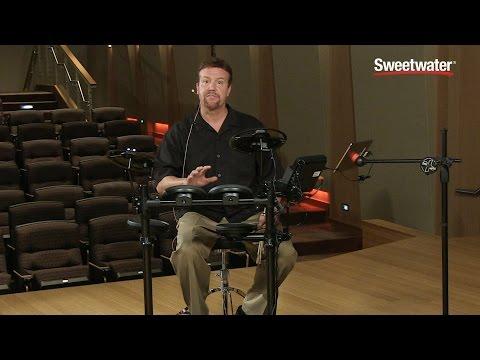 Yamaha DTX400K Electronic Drum Kit Demo - Sweetwater Sound