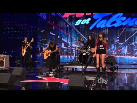 212 Green - America's Got Talent 2013 Season 8 Week 6 Auditions