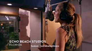 Celine Dion - Water and a Flame (Recording Session)