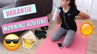 VAKANTIE MORNING ROUTINE || DAILY TWINLIFE