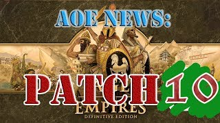 Age of Empires 1: Definitive Edition Patch 10 | ELO Rankings