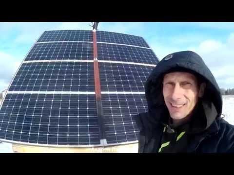Солнечные Батареи в Сибири. Дом таёжника. Реальная Эффективность солнечных батарей. оборудование.