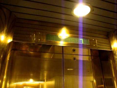Nice Old VALMET-Schlieren Marine Traction Elevator/Lift, St Peter Line M/S Princess Maria