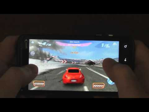 Asphalt 6 3D Review (HTC EVO 3D glasses-free 3D gaming) - Android