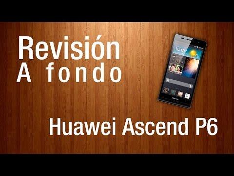 Revisión a fondo - Huawei ascend P6