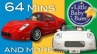 Driving In My Car | Part 3 | Plus Lots More Nursery Rhymes | 64 Mins Compilation from LittleBabyBum!