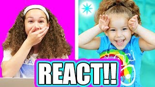 Olivia Haschak REACTS!! 10 Year Photo Challenge