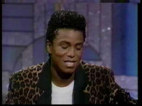 Jermaine Jackson at Arsenio Hall 1989 (part 1 of 2)