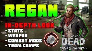 Regan The Shmorgishborg Survivor! The Walking Dead Road To Survival
