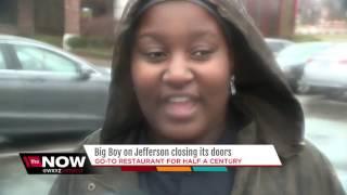 Big Boy restaurant on Jefferson closing its doors