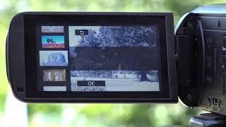 03. Canon HF R806 Camcorder Cinema effects demo