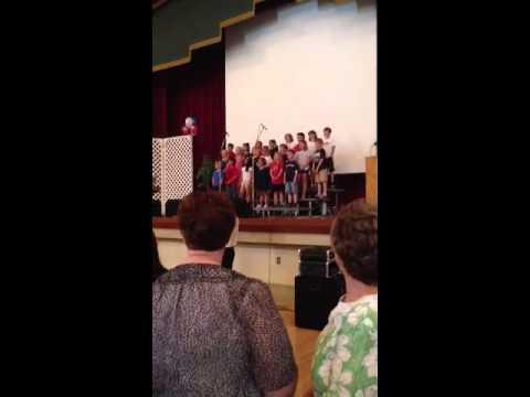 National Anthem - Hanford Christian School Choir