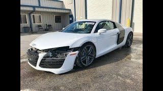 2014 Audi R8 Quattro V8 at Copart in Texas