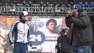JORGE MC VS HENDOKA | OCTAVOS RED BULL BATALLA DE LOS GALLOS FINAL NACIONAL CHILE 2015