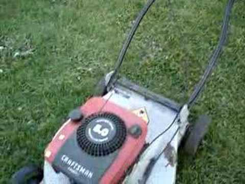 Beater Self Propelled Craftsman Lawnmower