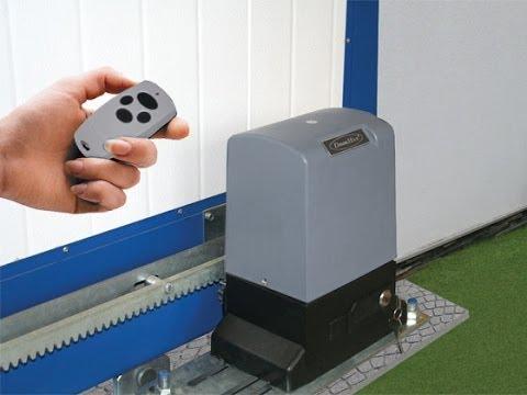 Автоматика для распашных ворот своими руками фото
