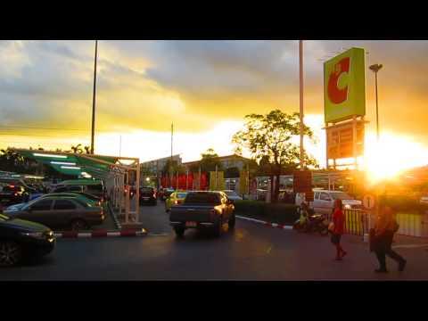 Beautiful Sunset at BigC Bangkok