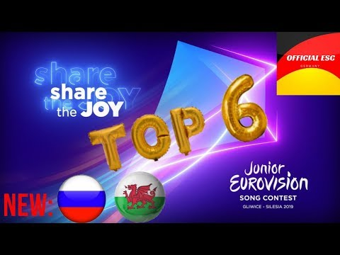 Junior Eurovision 2019 – My Top 6 [new Russia