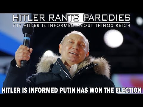 Hitler is informed Putin has won the election