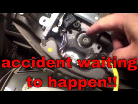 How to tighten loose steering wheel Toyota Camry √