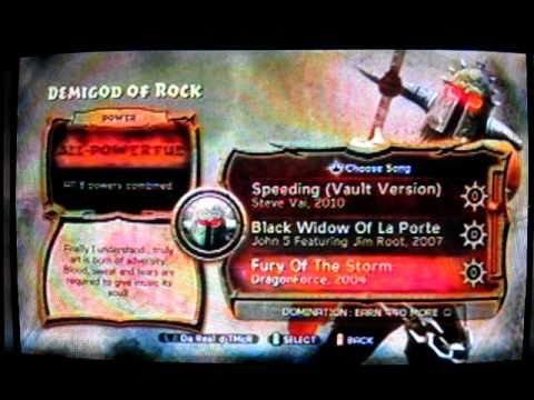 Guitar Hero 6: Warriors of Rock; Dragonforce - Fury of the Storm (Expert, Sightread, Quest mode)