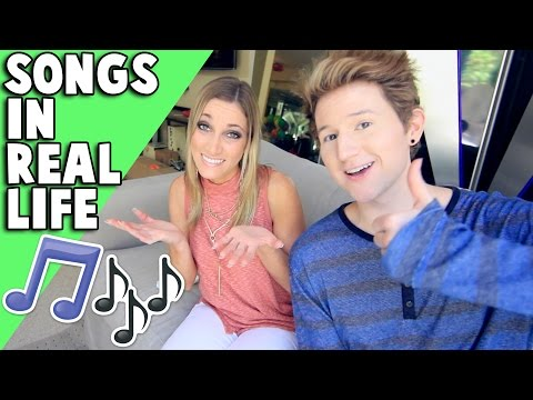 POPULAR SONGS IN REAL LIFE w/ Jeana PVP