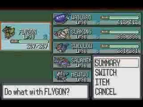gamesharks en pokemon zafiro