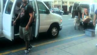Dizzy Wright arriving at House of Blues!