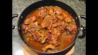 Jamaican Brown Stew Chicken Recipe movie