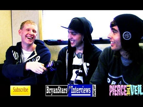 Pierce The Veil Interview #2 Vic Fuentes UNCUT 2012