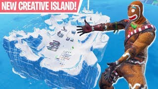 NEW Winter Creative Island, Christmas Prefabs + Merry Marauder Styles! - Fortnite Battle Royale