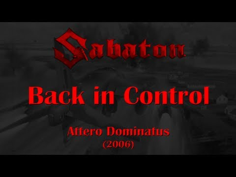 Sabaton - Back In Control