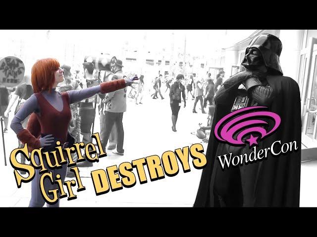 Squirrel Girl Destroys WonderCon 2015