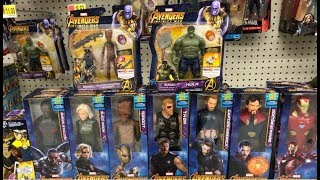"Avengers Infinity War 6"" Hero Vision Figures w/ Gems & new 12"" Titan Figures Found at Walmart"