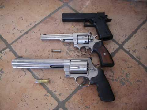 AIRSOFT 0.29 joules vs .357 magnum vs .500 S&W magnum ...