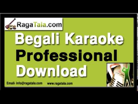 Jakhan Keu Amake Pagal - Bangla Karaoke - Manna Dey video