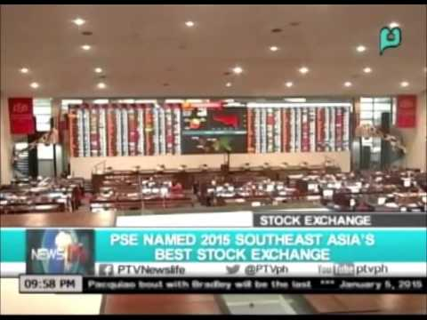 NewsLife: PSE named 2015 Southeast Asia's best stock exchange || Jan. 05, 2016